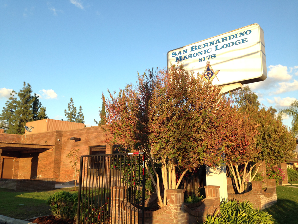 San Bernardino Masonic Lodge #178